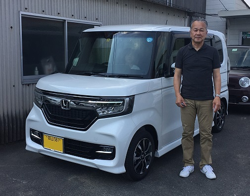 HONDA N-BOX-CUSTOM