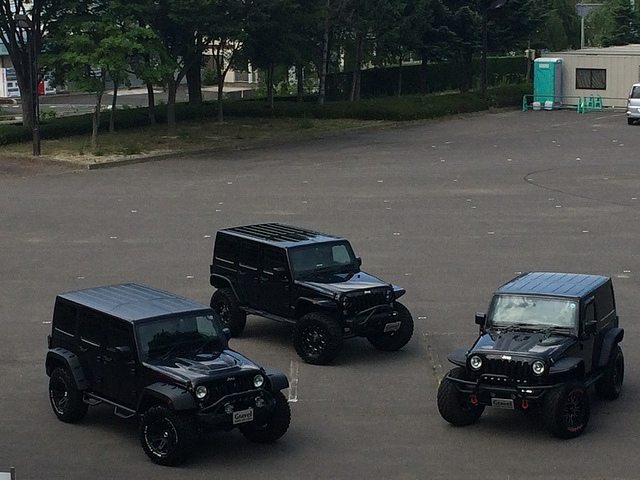 Jeep Wrangler  J-OFF 撮影
